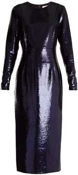 Diane von Furstenberg Round-neck sequin-embellished dress