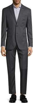 Michael Bastian Gray Label Men's Checkered Wool Suit