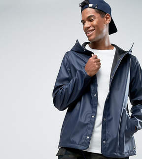 Herschel Forecast Hooded Coach Jacket Waterproof in Navy UK EXCLUSIVE