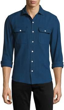 3x1 Men's Cutaway Collar Sportshirt