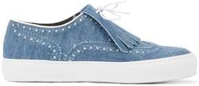 Robert Clergerie Tolka fringed sneakers