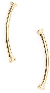 Bony Levy Women's Skinny Curve Bar Stud Earrings (Nordstrom Exclusive)
