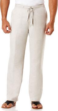 Cubavera Drawstring Linen Pant - 30 in. Inseam
