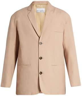 Raey Soft-tailored cotton-blend blazer
