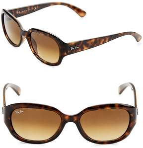 Ray-Ban Women's Carved Rectangular Sunglasses