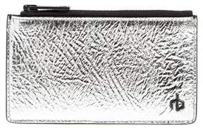 Rag & Bone Metallic Leather Card Case