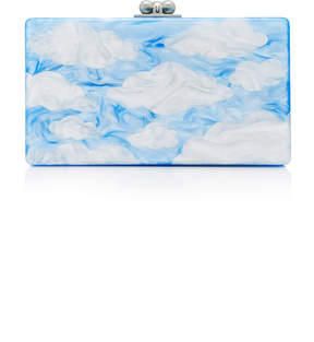 Edie Parker M'O Exclusive Painted Cloud Clutch