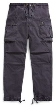 Ralph Lauren Cotton Canvas Cargo Pant Tintan Navy 28