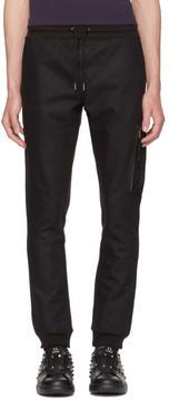 Diesel Black Gold Black Skinny Zip Lounge Pants