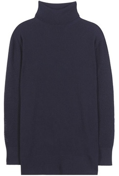Callens Knitted wool and cashmere sweater