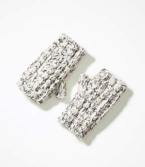 LOFT Marled Fingerless Gloves