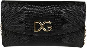 Dolce & Gabbana Micro Leather Shoulder Bag - NERO - STYLE