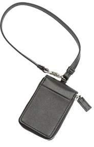 Royce Leather Unisex Rfid Blocking Saffiano Leather Key Case Wallet.