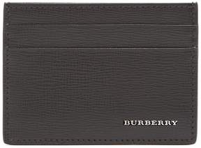 Burberry Black leather cardholder