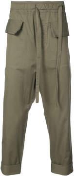 Damir Doma drop crotch trousers