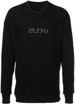 Julius netted sweatshirt
