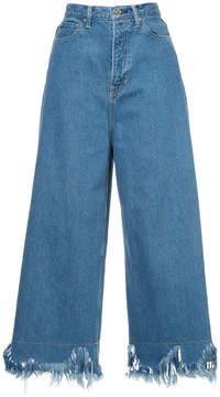CITYSHOP flared cropped jeans