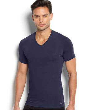 Calvin Klein Underwear Calvin Klein Men's Underwear Body Modal V-Neck Undershirt U5563