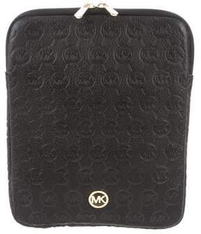 MICHAEL Michael Kors Embossed Leather iPad Case