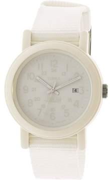 Timex Originals TW2P88200 White Cloth Quartz Fashion Watch