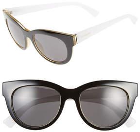 Von Zipper Women's Queenie Round Cat Eye Sunglasses