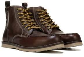 Crevo Men's Buck Memory Foam Lace Up Boot