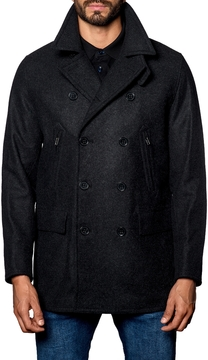 Jared Lang Men's Double Breasted Wool Jacket