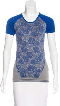 adidas by Stella McCartney Patterned Athletic Top w/ Tags
