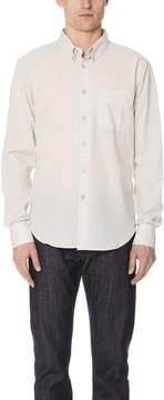 Naked & Famous Denim Button Up Shirt