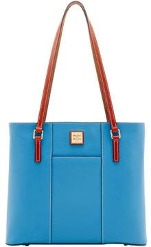 Dooney & Bourke Pebble Grain Lexington Shopper Tote - AZURE - STYLE