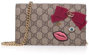 Gucci Face-embellished GG Shoulder Bag - ONE COLOR - STYLE