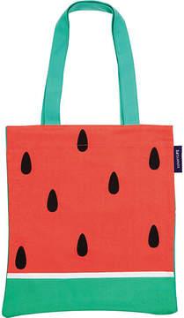 Sunnylife Watermelon-print canvas tote bag