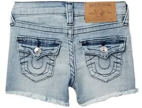 True Religion Cutoff Shorts (Little Girls)