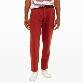 Club Monaco Tapered Linen Cotton Trouser