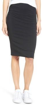 Amour Vert Women's 'Yuma' Stretch Knit Skirt