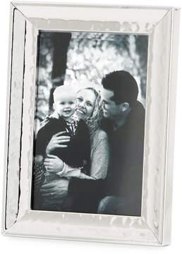 DAY Birger et Mikkelsen Tizo Concaved Hammered 4 x 6 Metal Picture Frame, Silver