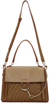Chloé Brown Medium Faye Day Bag