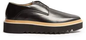Stella McCartney Faux-leather platform derby shoes