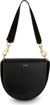 Sacai Horseshoe leather bag