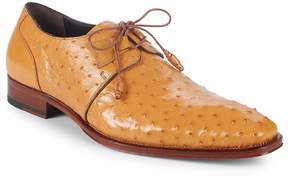 Mezlan Men's Ostrich Leather Derbys