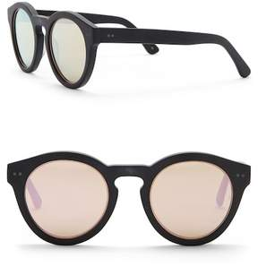 Cat Eye SUNDAY SOMEWHERE Kiteys 49mm Round Sunglasses