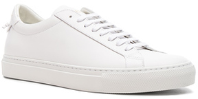 Givenchy Leather Urban Tie Knot Sneakers in White.