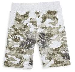 Petit Lem Little Boy's Graphic Cotton Shorts