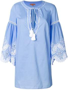 Ermanno Scervino broderie anglaise detail tunic