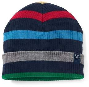 Gap Stripe ribbed beanie