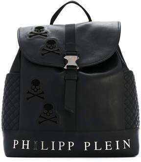 Philipp Plein skull satchel backpack