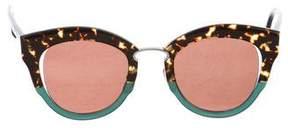 Salvatore Ferragamo Round Tinted Sunglasses