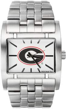 Rockwell Kohl's Georgia Bulldogs Apostle Stainless Steel Watch - Men