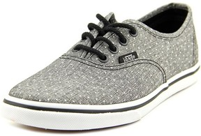 Vans Authentic Lo Pro Youth US 3 Gray Sneakers