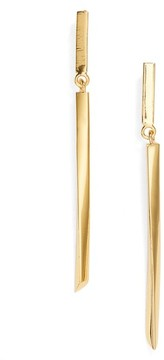 Argentovivo Women's Linear Drop Earrings